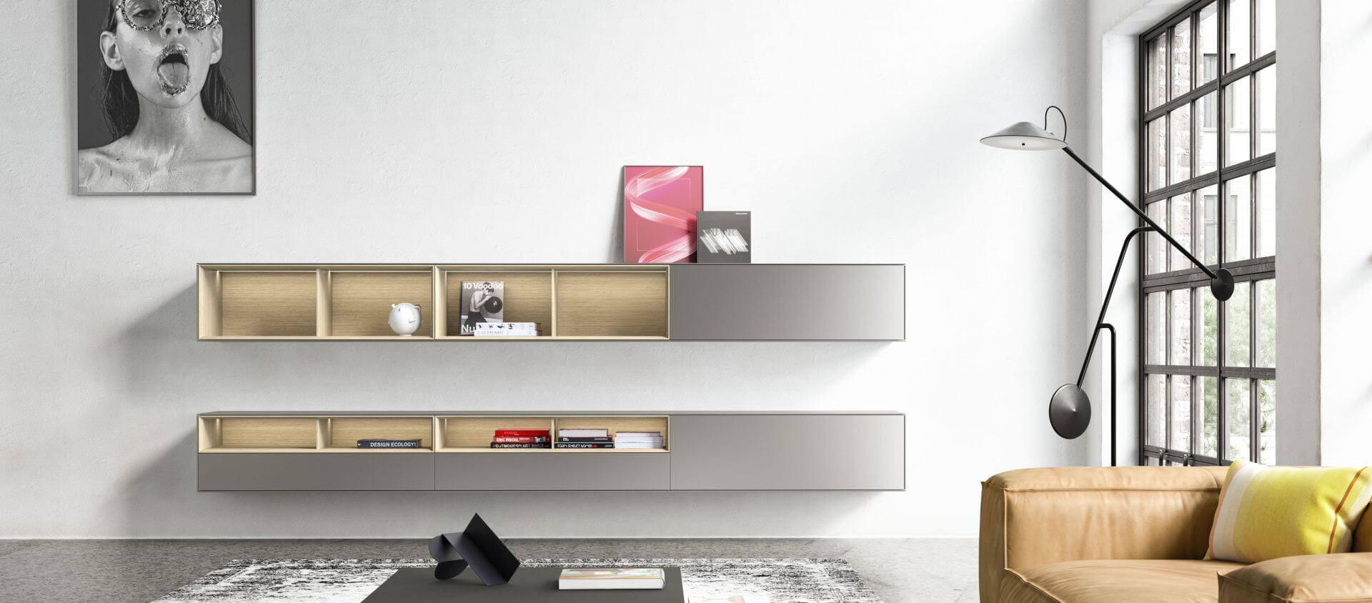 Modern customized furniture_SOMA_shelf_Kettnaker_modern living_design furniture