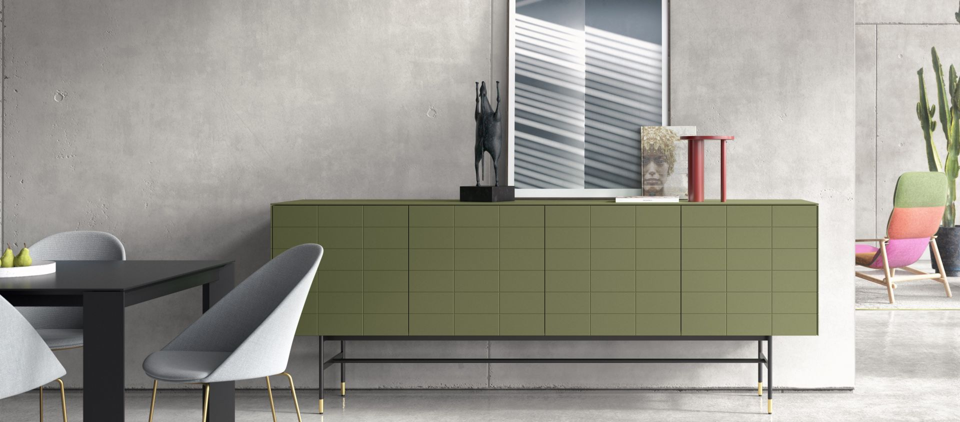 Modern customized furniture_SOMA Edition_Kettnaker_Sideboard_Lowboard_modern living